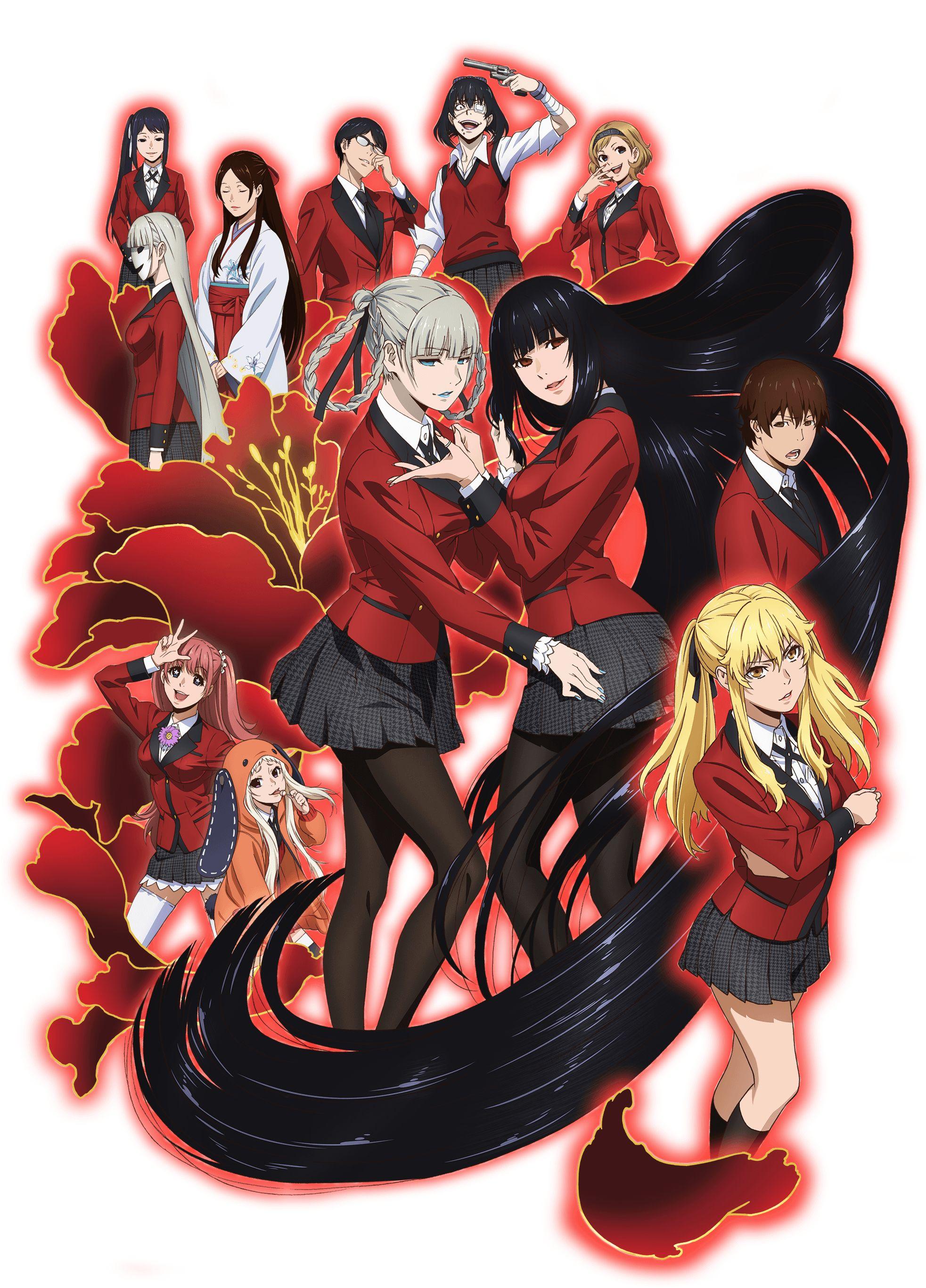 Anime Opening And Ending Of The Week; Kakegurui Anime