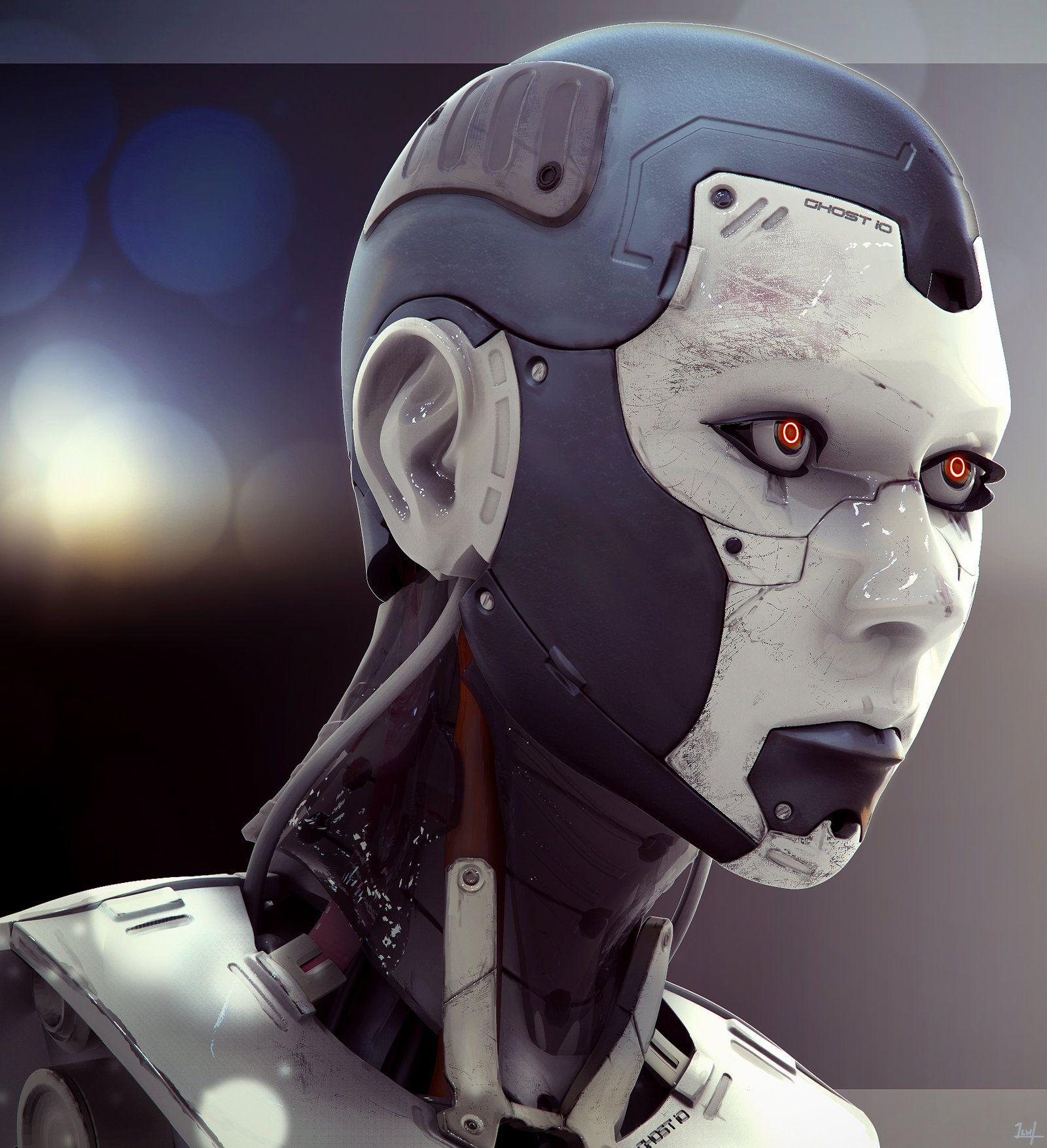 Cyborg Female Composite, 2014 Lance Wilkinson www