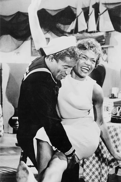 Eartha Kitt and Sammy Davis Jr. in Anna Lucasta (1959)