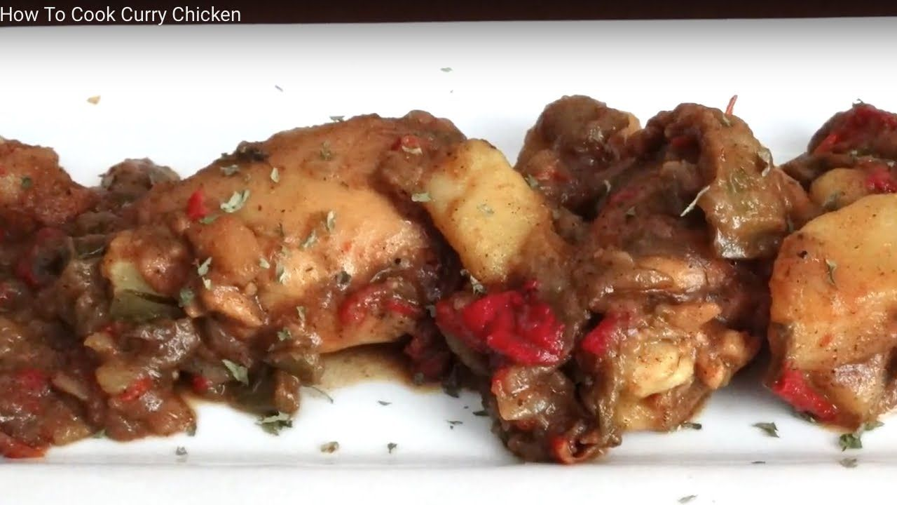This Curry Chicken Recipe Is Packed With Nothing But Mouth Watering Flavors!!!! With Tender Falling Off The Bone Chicken You Can't Help But Too Want More!!!