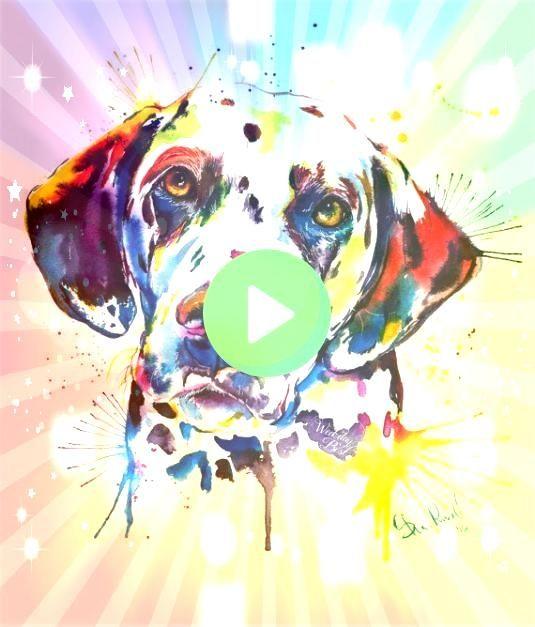 un dalmatien est votre genre de chien vous aimerez cette peinture Cest une c Si un dalmatien est votre genre de chien vous aimerez cette peinture Cest une c Si un dalmati...