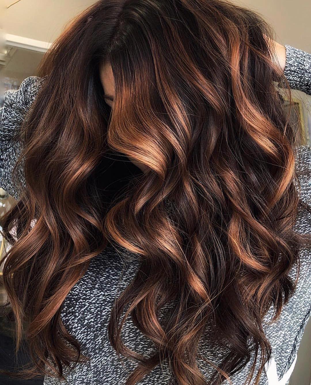 Low Maintenance Brunette Hair Color On Fine Dark Asian Brunette Hair Hair Color Asian Asian Hair Hair Highlights
