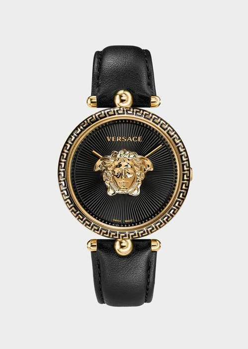 2ad230e226fa Versace Black Palazzo Empire Watch