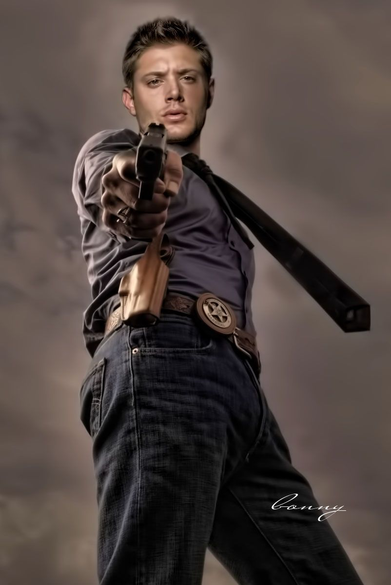 """Sheriff Dean"" painting by pompei77.deviantart.com on @DeviantArt"