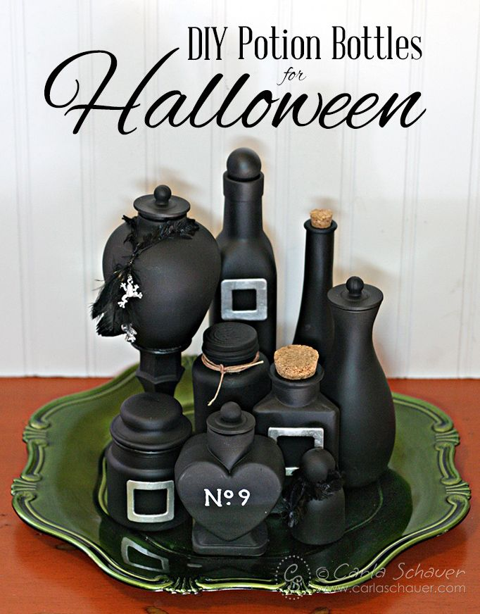 Halloween Decorations Potion Bottles Delectable Decorate Halloween Potion Bottles With Paint  Halloween Potion 2018
