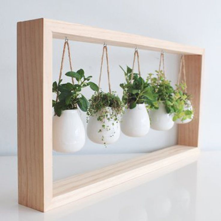 10 charmante Indoor-Kräutergarten Pflanzgefäße #herbsgarden