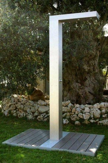 Ducha exterior para piscinas de HM hidromasajes. www.logydis.weebly ...