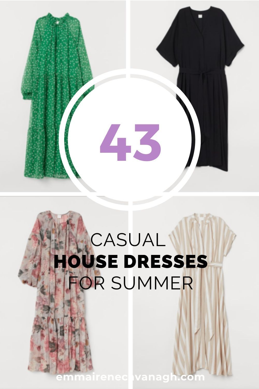 Casual House Dresses For A Socially Distant Summer Style House Dress Spring Summer Dress Business Casual Outfits [ 1500 x 1000 Pixel ]