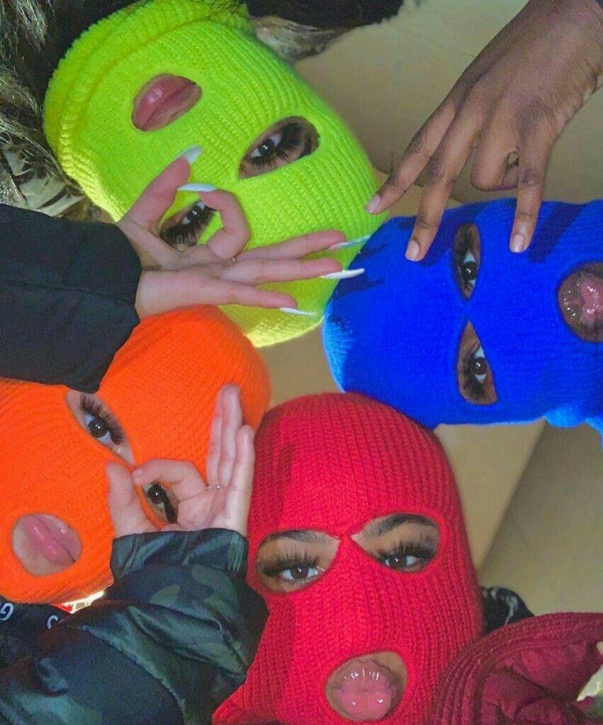 Follow Jawnthings For More In 2020 Bad Girl Wallpaper Girl Gang Aesthetic Mask Girl