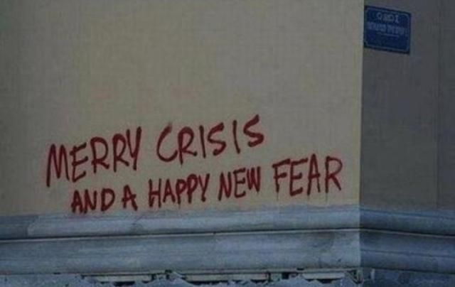 "Best Funny Aesthetic Account Suspended ""Merry Crisis"" via @boblawblizzy 9"