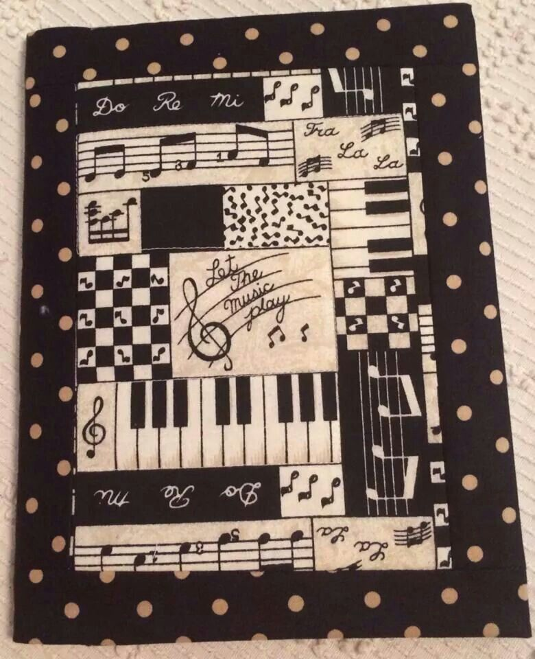 Music Theme Quilting Sewing Ideas Pinterest