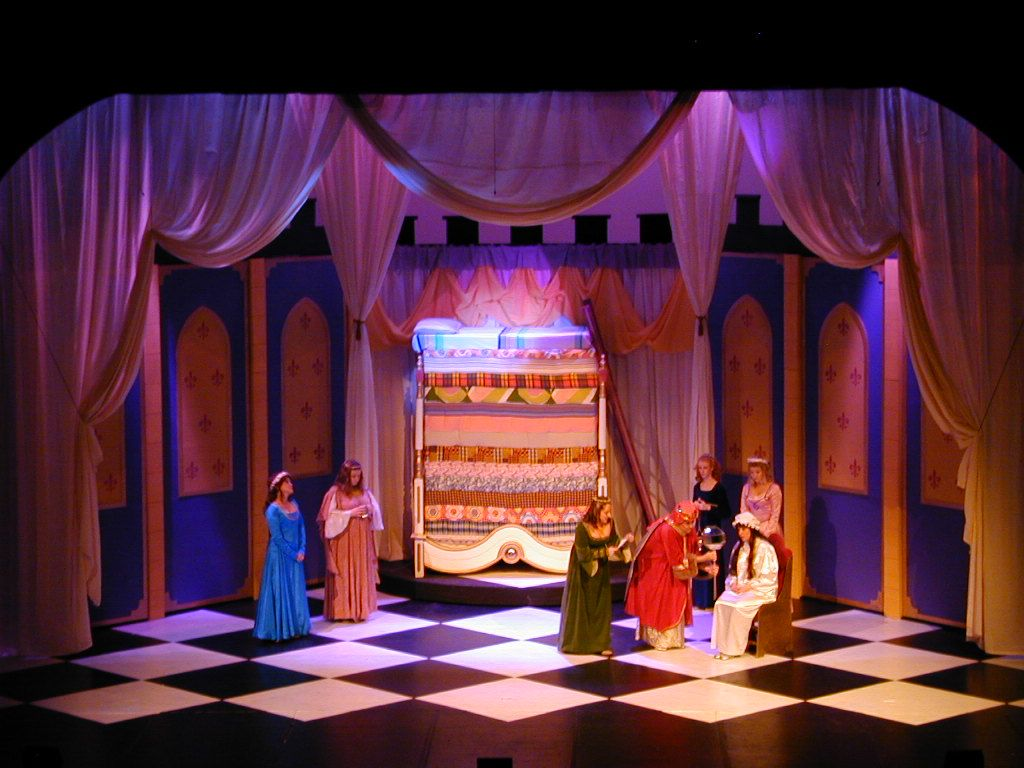 Once Upon A Mattress Set Design Google Search With Images