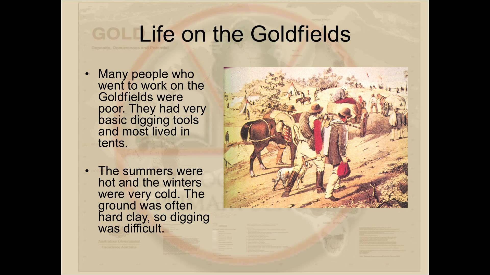 The Australian Gold Rush For Australian Primary School