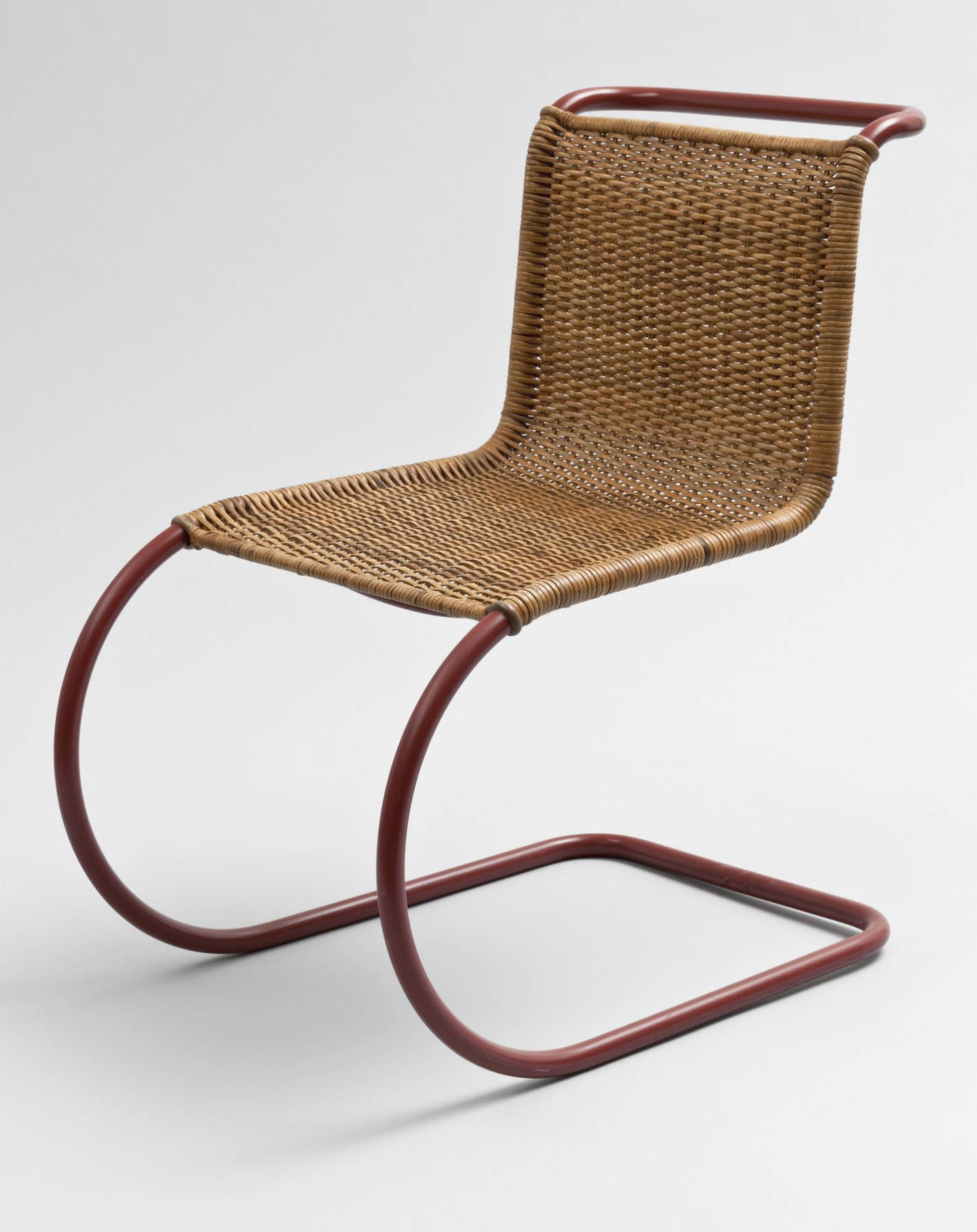 Side Chair MR 10 ca 1931 Ludwig Mies van der Rohe with Lilly
