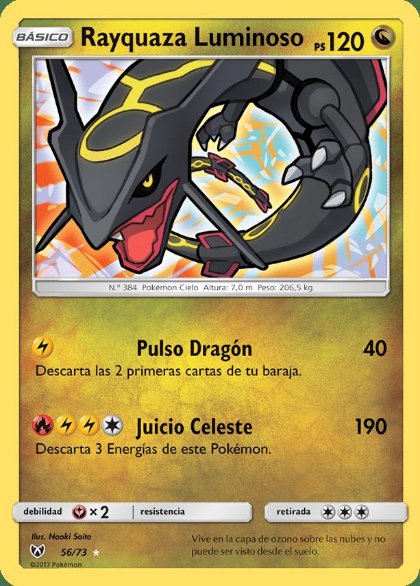 Rayquaza Luminoso | The collection | Pinterest | Cartas de pokemon ...