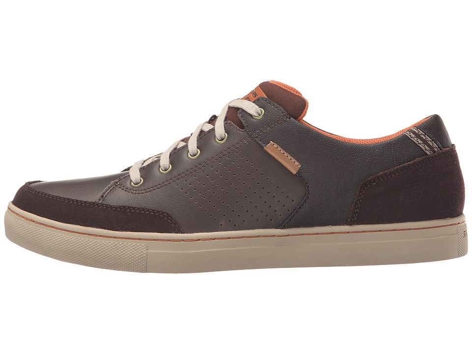 Herren Schuhe Casual Lace Up Schuhe Skechers Relaxed Fit