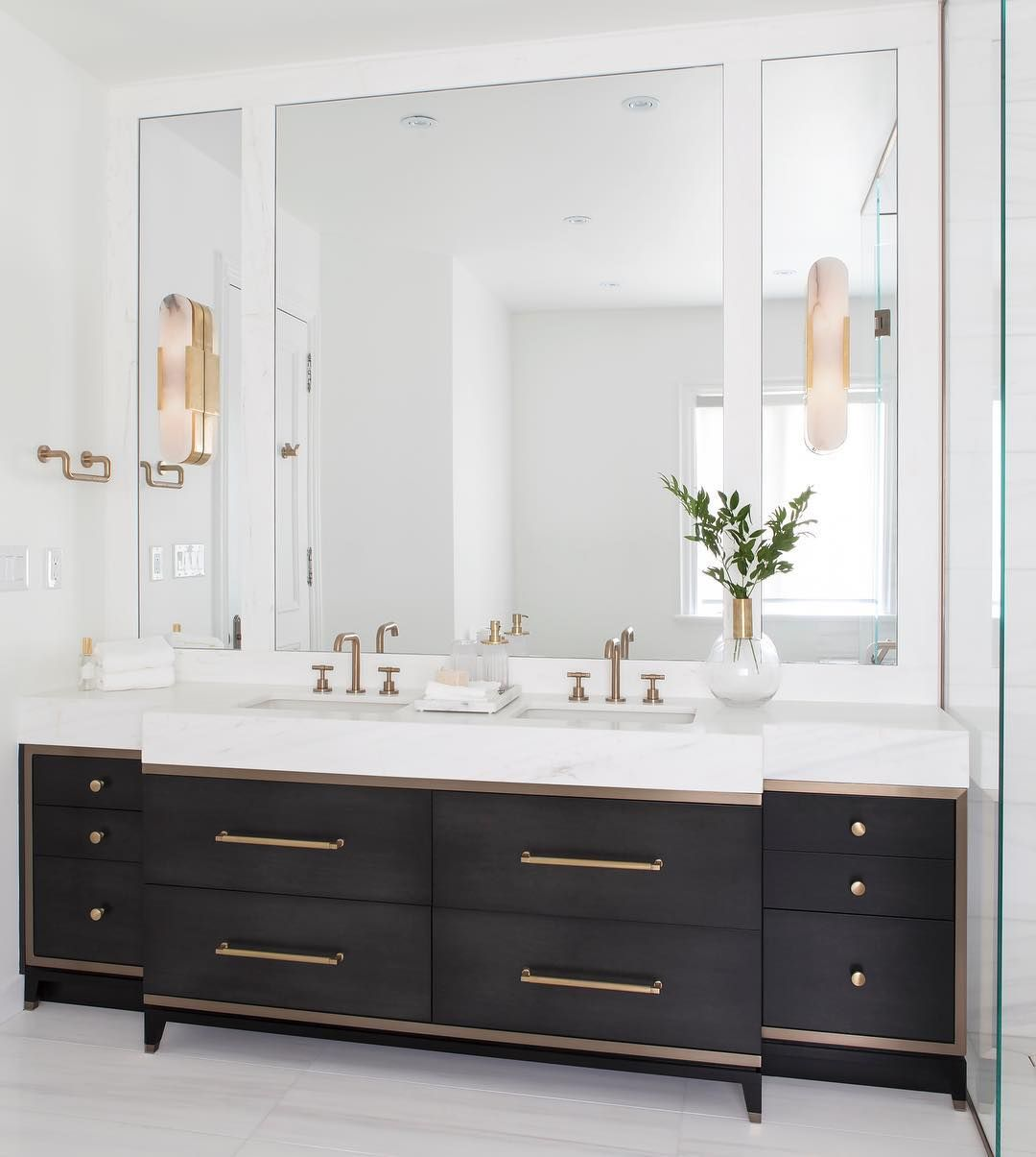 Delia Mamann Interior Design On Instagram Custom Bathroom Vanity