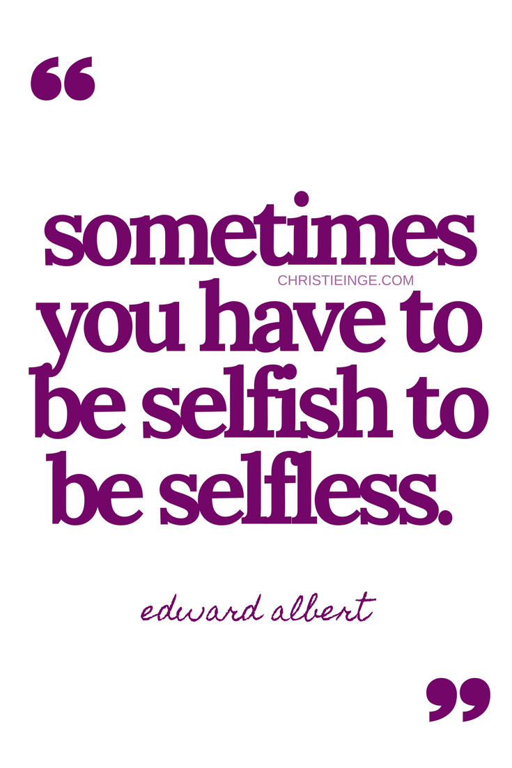 4 tips for successfully combating selfishness 67