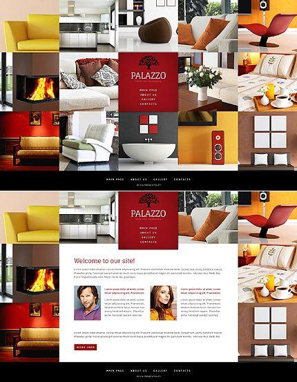 Template 41924 - Palazzo Furniture Website Template | Interior ...