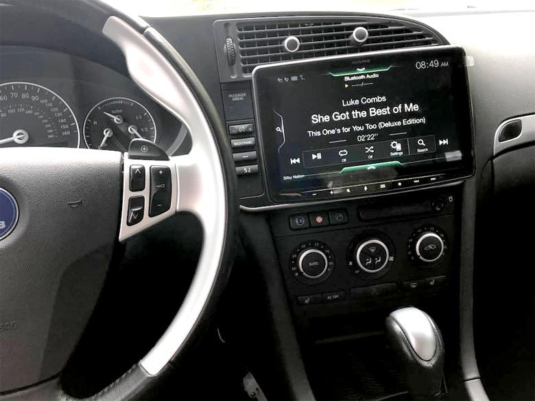 Custom Infotainment System Upgrade For Saab 9 3 Infotainment System Saab 9 3 Saab