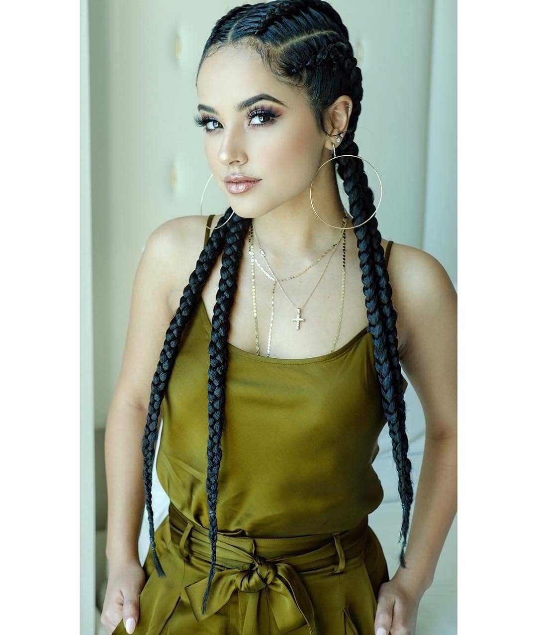 Pin By O C On Becky G In 2019 Becky G Hair Braided