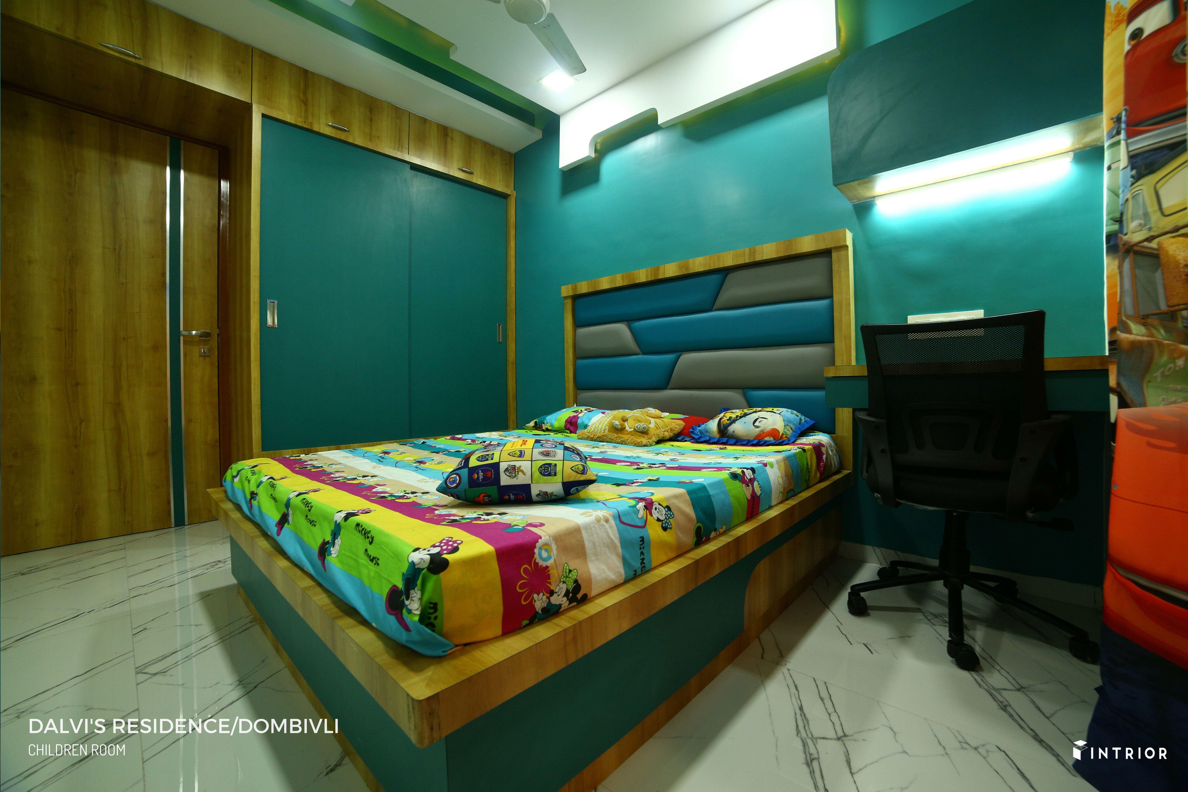 Children Room Design At Dombivli Thane Interior Design