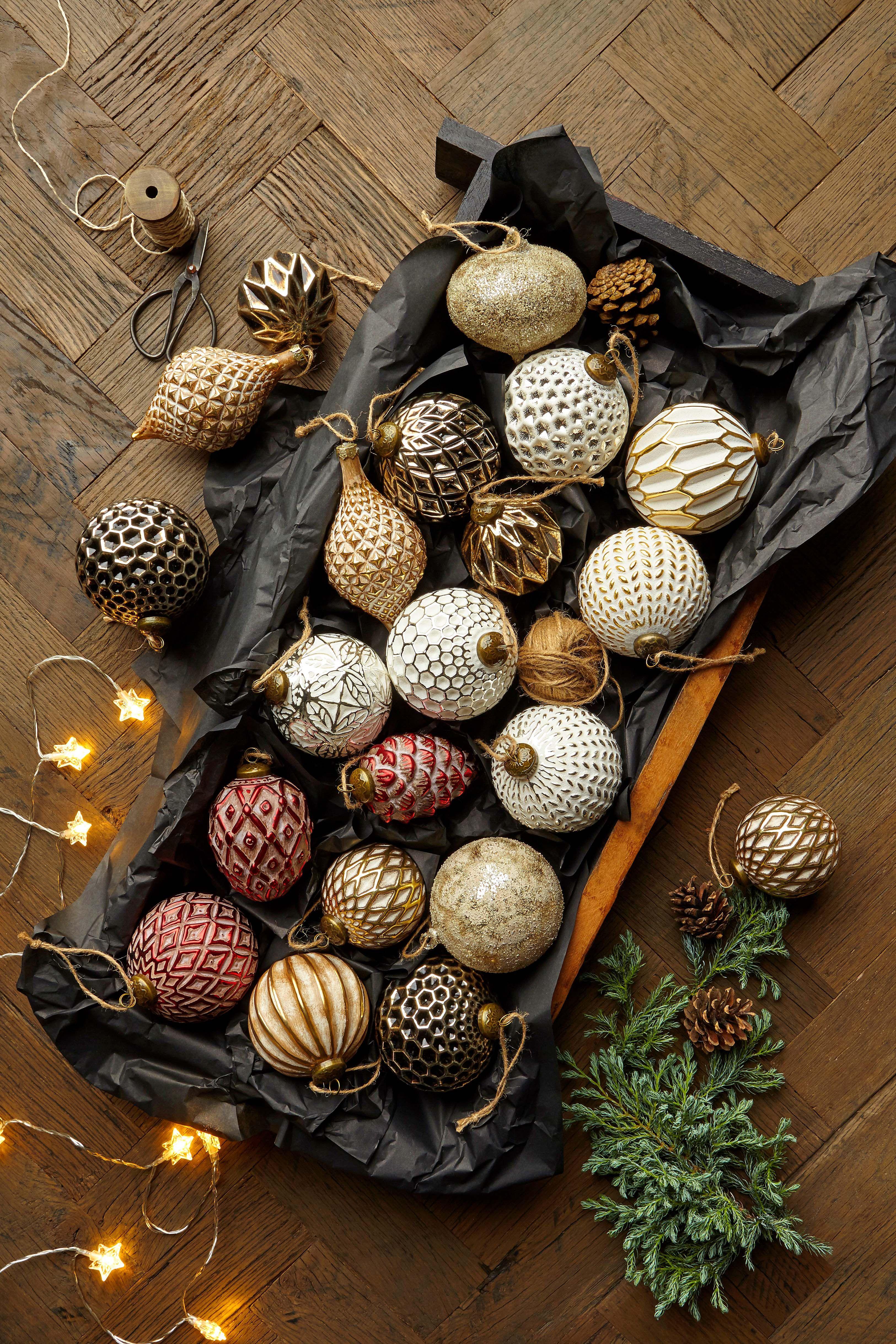 Dehner Christbaumkugeln.Weihnachtsdeko Aus Gold Glamour Und Glanz So Glamourös Kann Die