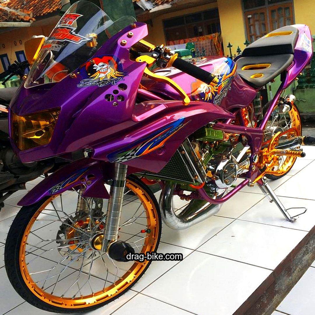 Mothai Thailook Style Motor Modifikasi Ninja Rr Jari Jari Sepeda
