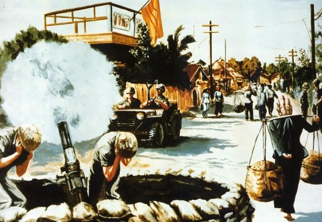 Street Scene Vietnam 1967