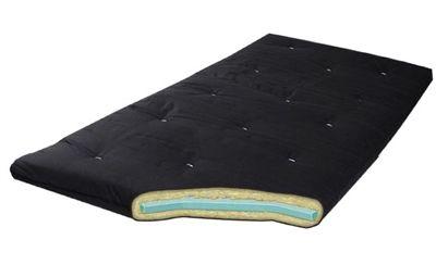 Overnighter 3 Roll Up Cotton Futon Mattress By Gold Bond