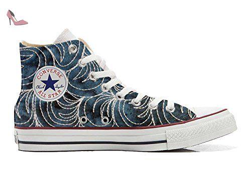 Converse All Star Ox Graphics, Baskets pour Garçon - Multicolore - Multicolore, EU 37 EU