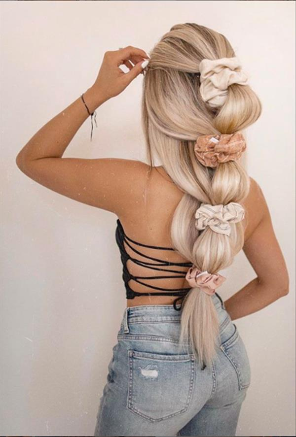 30 Amazing Hair Extension Ideas For Long Hair And Short Hair The First Hand Fashion News For Females In 2020 Hair Styles Long Hair Styles Braided Hairstyles