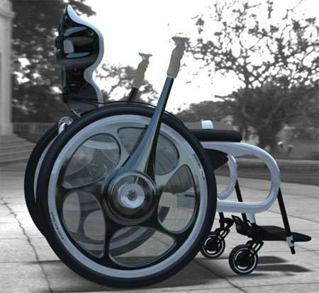 Upright Wheelchair Concepts Tim Leeding Wheelchairs Design