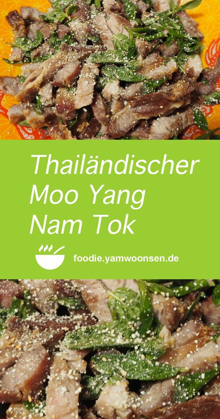 Neueste Rezepte Mit Bild thailändischer moo yang nam tok neueste rezepte