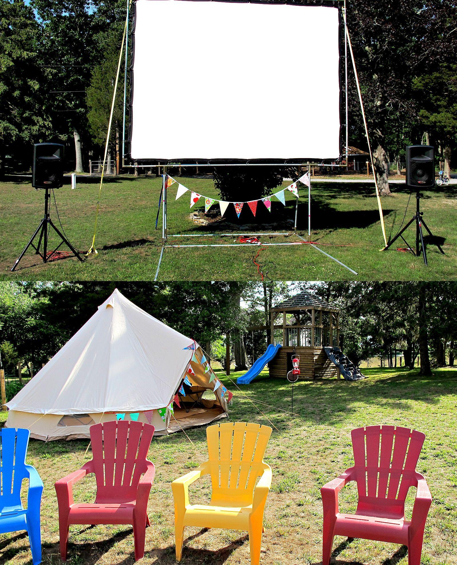 Movie Night By Suburban Camping Co. Outdoor Movie, Movie