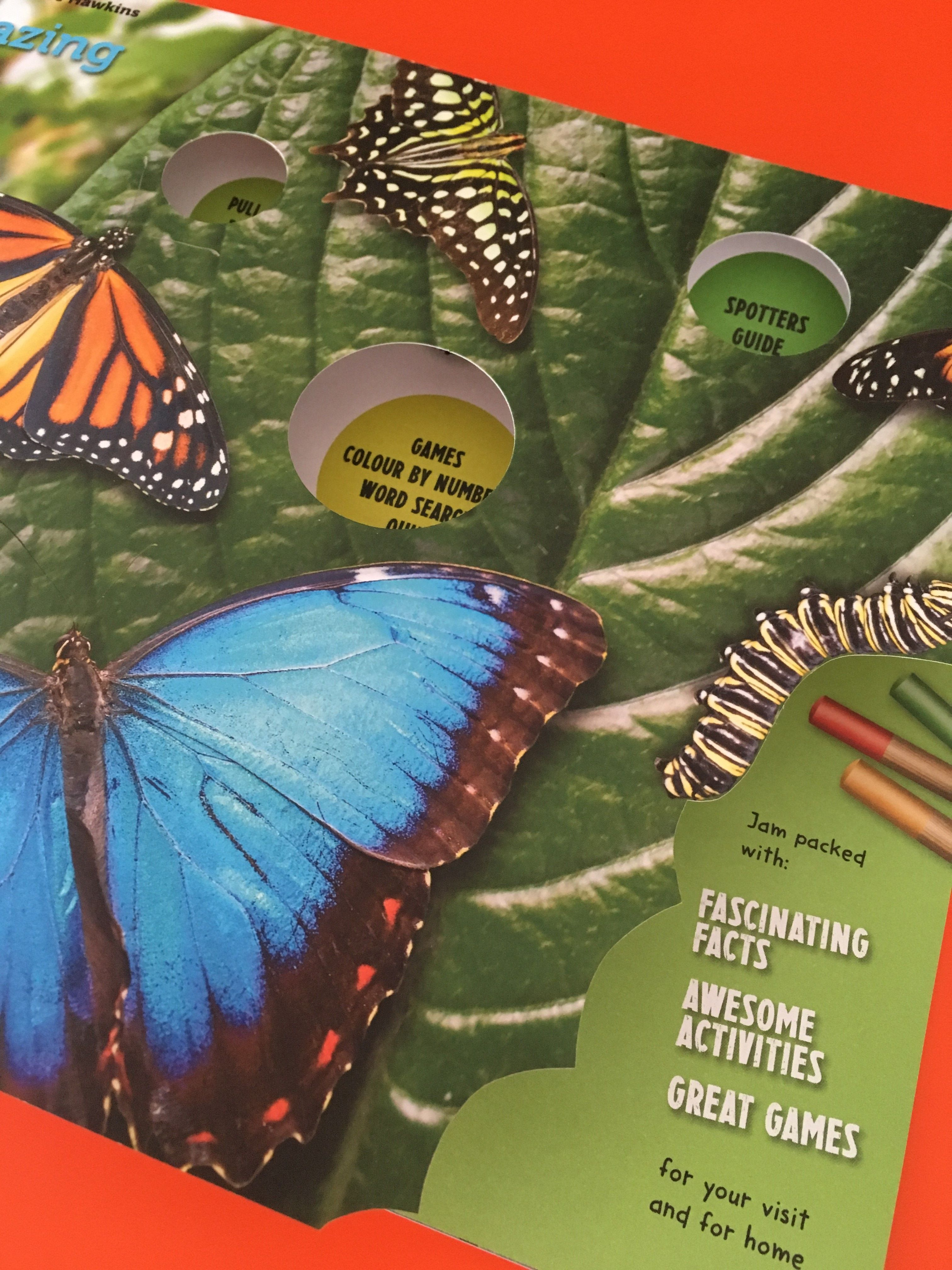 Butterfly guide by impress print services matt laminate