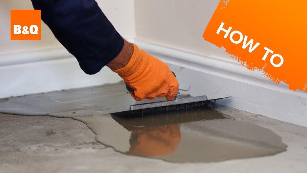 How to level a concrete floor part 1: preparation | Bathroom ...