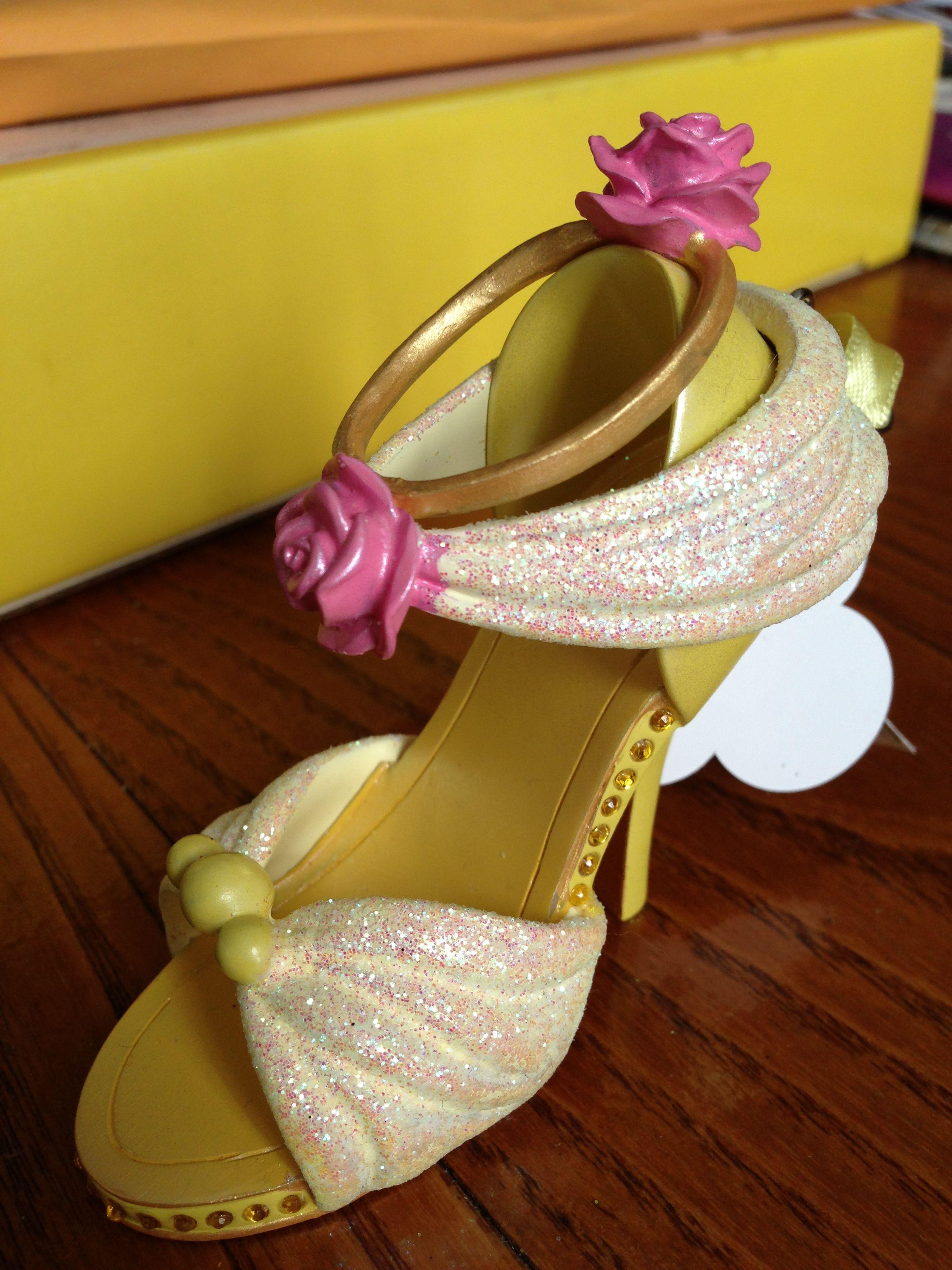 Belle ornament disney - Belle Shoe Ornament Disney Ornamentsbelle