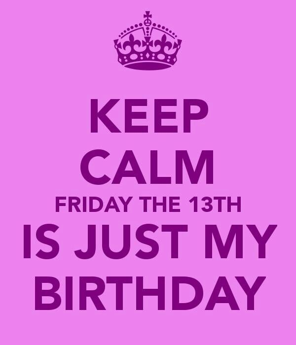 I Was Born On This Day And My Bday Next Year Will Be On Friday