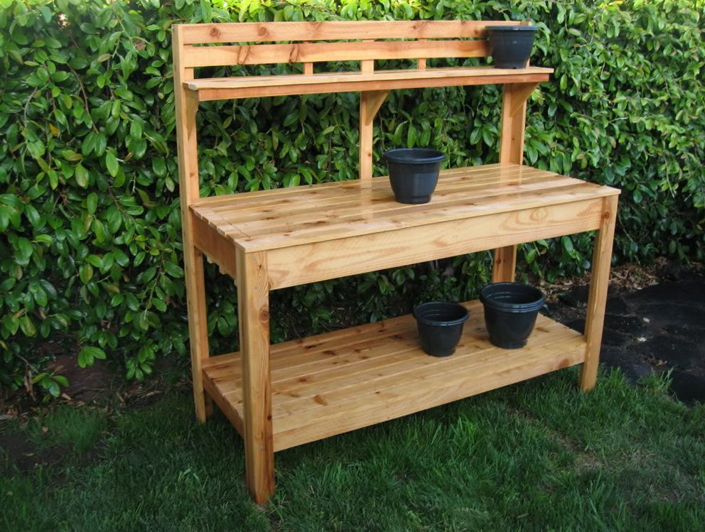 50+ Best Potting Bench Ideas To Beautify Your Garden Outdoor