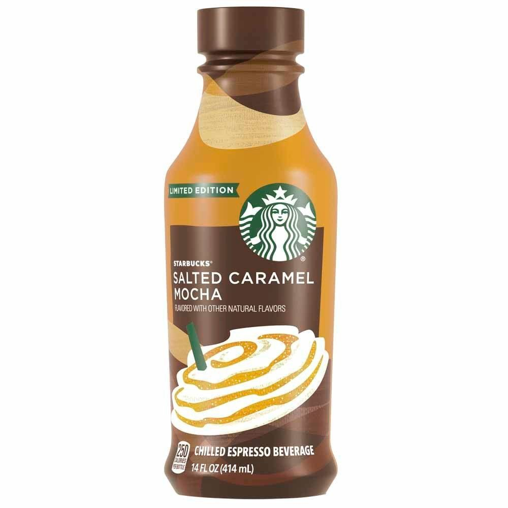 Starbucks Iced Latte Salted Caramel Mocha Limited Time