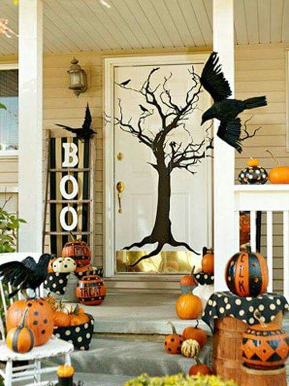 Pin by Donna Maloney on bewitched Pinterest - pinterest halloween decor outside