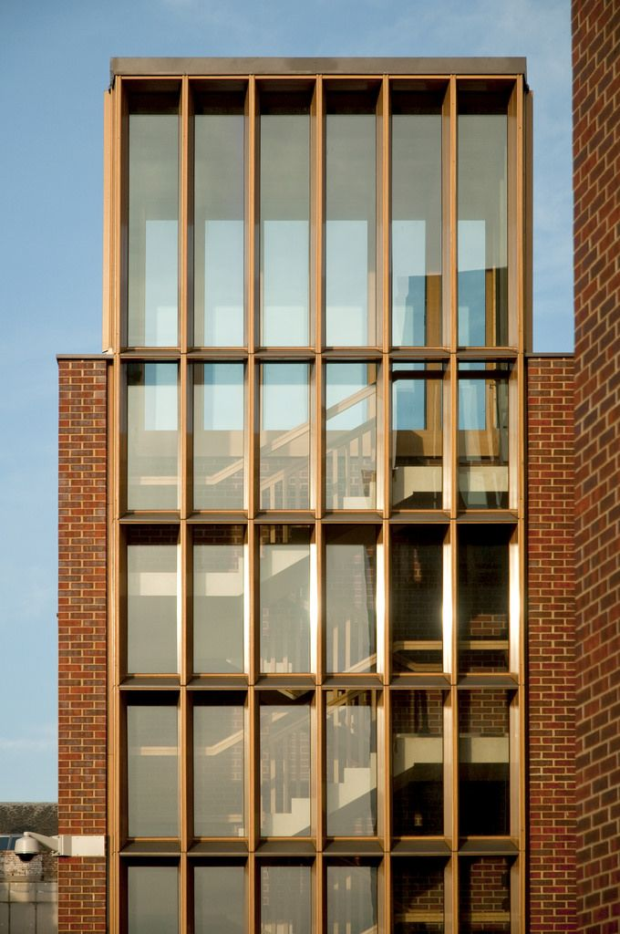 Modern Architecture Oxford uk - oxford - somerville college - student accommodation