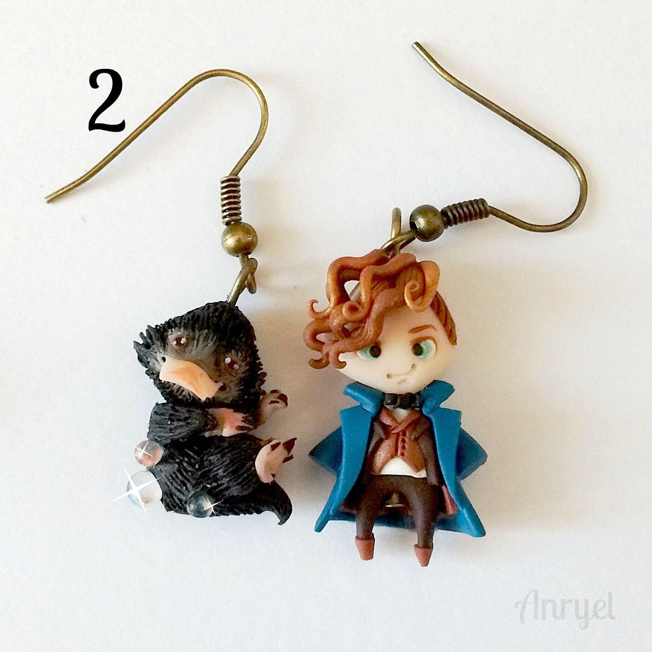 Fantastic beasts and where to find them FAN ART Niffler Newt Scamander Addicted Magic Hogwarts(Etsy のAnryelより) https://www.etsy.com/jp/listing/505422568/fantastic-beasts-and-where-to-find-them