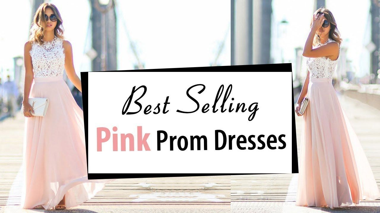 Beautiful pink prom dresses latest formal party dress best