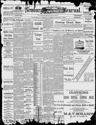 Orange County Newburgh 1887 1892 1906 1908 1911 Daily Journal Google News Archive Search