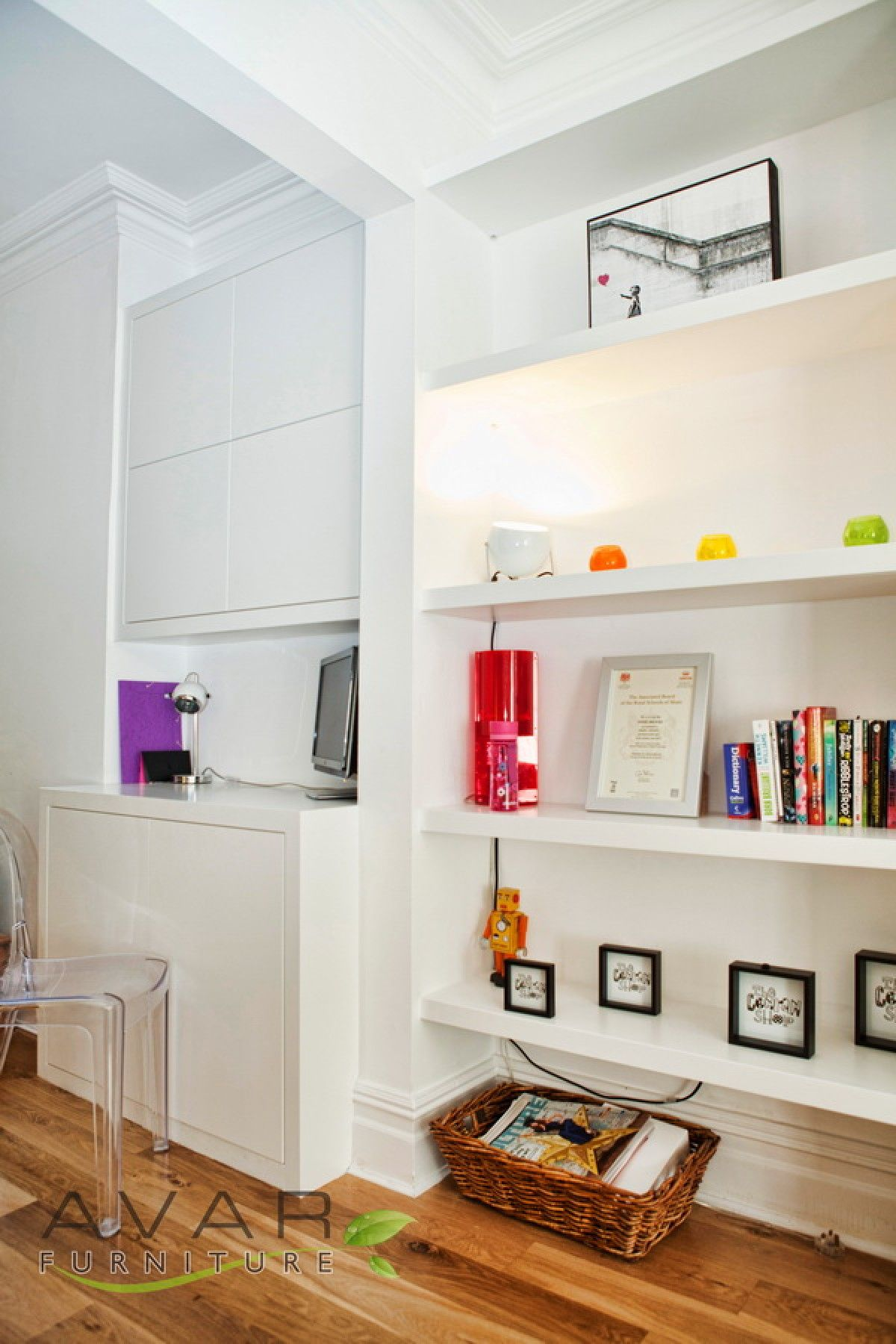 alcove shelving fitted shelving units london from avar