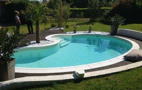 Piscine haricot jardin pinterest haricots piscines for Piscine haricot