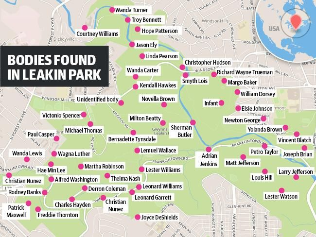 The bodies found in Leakin Park in recent decades, including that - homicide report template