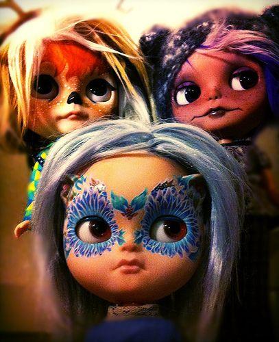 Guizmo, Iris and Athena